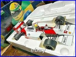 1/12 Minichamps 1988 F1 Ayrton Senna Mclaren MP4/4