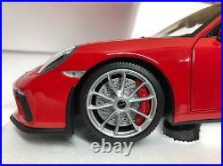 1/18 Minichamps 2017 Porsche 911 Gt 3 Red New Limited Edition