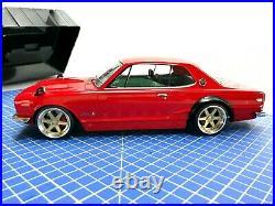 1/18 Nissan Skyline Gt-r Kpgc10 Red Modified Triple Nine