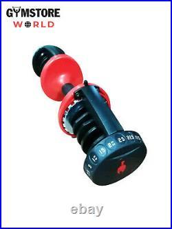 2 X 25 Kg D-Stat Adjustable Dumbbells (Pair) for Home Gym PREORDER