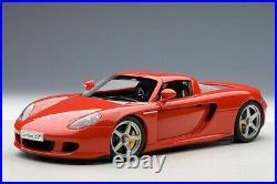 AUTOart 1/18 Porsche Carrera GT (Red) 78044 Brand New, Unopened
