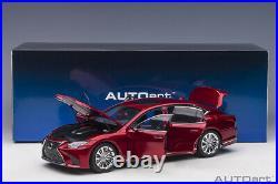 AUTOart 78869 LEXUS LS 500H 1/18 MORELLO RED METALLIC / BLACK INTERIOR