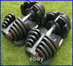 Brandnew and Boxed 40kg Adjustable Dumbbells 80kg Pair Gym Fitness Weights