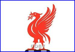 Bright Red Liver Bird Liverpool Football Cast Iron Garden Weathervane