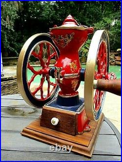 Charles Parker No. 200 Coffee Mill Grinder Restored
