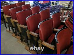 Cinema seats x 10 pairs plus extras