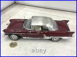 Danbury/franklin mint 124 1957 Cadillac Eldorado Brougham classic model rare 18