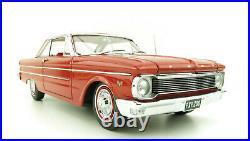 Diecast Replicars 17002 1965 XP Ford Falcon Futura Hardtop in Red Satin 118