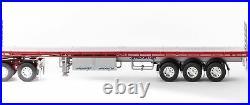 Drake ZT09137 AUSTRALIAN Maxitrans Freighter Trailer & Dolly Red & Silver 150