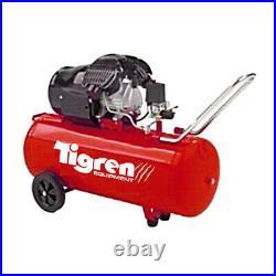 Electric Air Compressor 100 Litre LTR 3HP 8 BAR 13CFM Direct Drive V Twin Pump