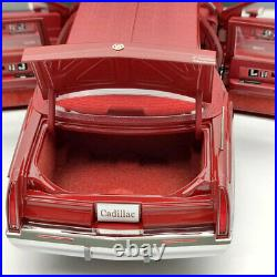 GM 118 1993 Cadillac Fleetwood Sedan Wine Red Diecast Models Edition Collection