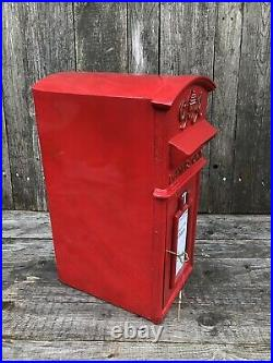 GR Royal Mail Cast Iron Post Office Box GR Barn top reproduction Red Post Box