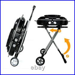 Gas BBQ Portable Folding 2 Burners High Quality Ideal for Camping, Easy To Store