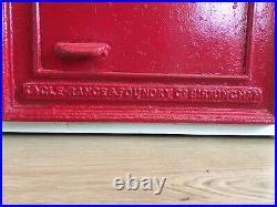 Genuine Eagle Range Ludlow front. Solid cast iron. Original, Extremely rare item