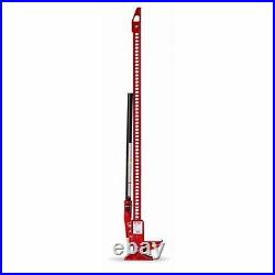 Hi-Lift Jack HL-485 Cast Iron & Steel 48 Height Red 4,660 lbs Capacity