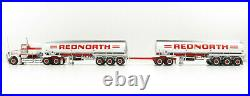 Highway Replicas 12017 Kenworth SAR Truck Tanker Road Train Red North Scale 164