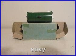 Hornby Dublo- 32080 Short Tank wagon-Power Ethyl 3 rail -xcelnt/boxd- c1949
