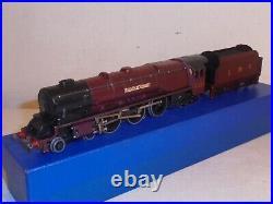 Hornby Dublo-EDL2 4-6-2Duchess of Atholl LMS Maroon(6231)Yellow Label-good c1950