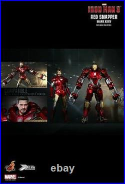 Hot Toys 1/6 12 PPS002 Red Snapper Iron Man 3 Mark XXXV 35 Action Figure