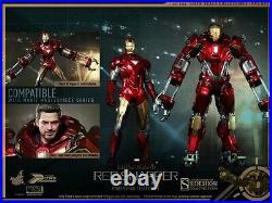 Hot Toys 1/6 Ironman 3 Tony Stark Mark 35 XXXV Red Snapper NEW IN-STOCK PPS002
