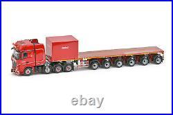 IMC Models 5274995 Red Line Mercedes Nooteboom Ballasttrailer & Ballast Box 150