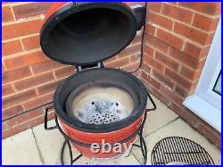 Kamado Joe Junior Ceramic Grill BBQ Red (KJ13RH)