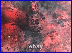 LE CREUSET Enamel Cast Iron Dutch Oven & Lid Cherry Red 5.5qt #26