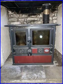 La Nordica Rosetta Sinistra Wood Burning Range Cooker