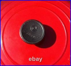 Le Creuset Braiser #30 Cast Iron Enamel 3.5 Qt Royal Cerise Red (Made in France)