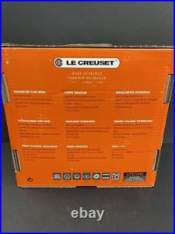Le Creuset Cast-Iron, 4.5qt, Dutch Oven Pot, Cherry Tartan Plaid RARE New In box