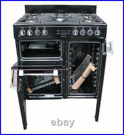 Leisure 90cm Dual Fuel Range Cooker CK90F232R Double Oven Red #2162