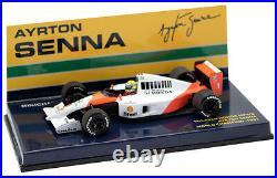 Minichamps McLaren Honda MP4/6 #1 1991 World Champion Ayrton Senna 1/43 Scale