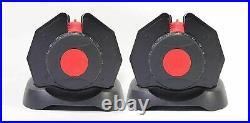 NEW 24kg x 2 Adjustable Dumbbells Pair (Total 48kg)