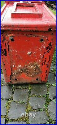 Original Royal Mail post box ER cast iron excellent condition