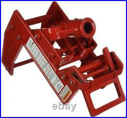 Qualcraft 2601 Portable Wall Jack, for Use with 1-1/2 X 3-1/2 1-(Pack), Red