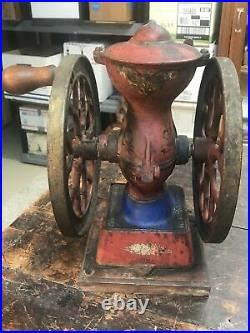 Rare Antique The Cha's Parker Co. Meriden Conn. Model 200 Coffee Grinder MILL