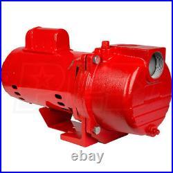 Red Lion SPRK150 1.5 Horsepower 71 GPM Cast Iron Lawn Irrigation Sprinkler Pump