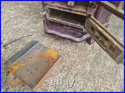Rosieres Enamel Multi-Fuel Log Burner Used