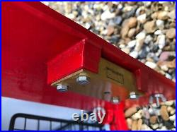 Royal Mail 1980s ER cast iron Front GPO Post Box Machan Foundry RED