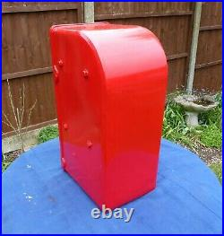 Royal Mail Post Office GPO Genuine Original Cast Iron fronted ER Post Box