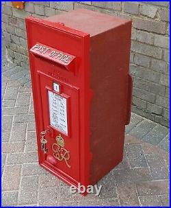 Royal Mail Post Office GPO Genuine Original cast iron GRV1 Wall Post Box, 1947