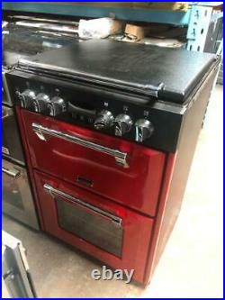 Stoves Richmond 600DF Dual Fuel Cooker 60cm Double Oven Jalapeno Red 444444724