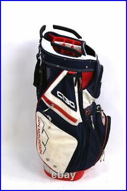 Sun Mountain C130 USA Carry Golf Bag 14 Dividers Red/White/Blue