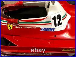 Toshi 1976 Ferrari 312 T2 Gilles Villeneuve Car Model
