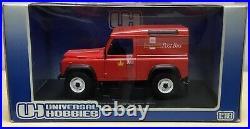 Universal Hobbies 118 DieCast Model-Land Rover Defender 90-Royal Mail