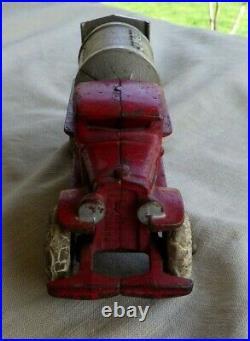 VTG Kenton Jaeger Cement Mixer Cast Iron Nickel Drum 7 Red All Original