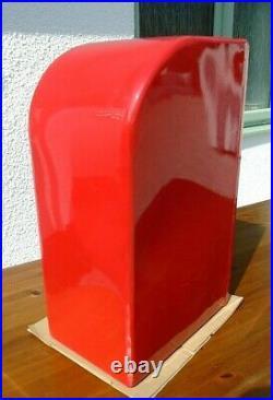 Vintage Style Red Cast Iron G R George VI Royal Mail Letter Post Box Lock Keys