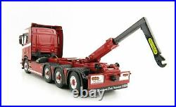 WSI 04-2090 Scania R Normal CR20N 8x2 Truck with Hooklift System 150