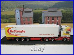 WSI Search Impex. Scania R6 Topline & Reefer Trailer. McConaghy. 150. 02-1608